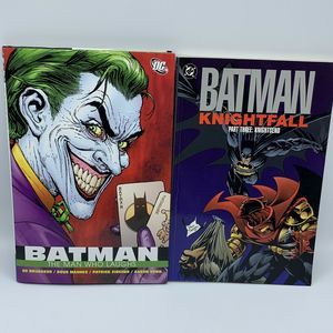 Batman DC Comics Book Joker Lot of 2